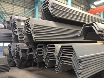 顺力生产的冷弯型钢板桩